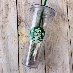 Starbucks Classic Large Clear Tumbler